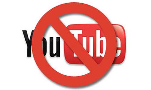 YouTube ban