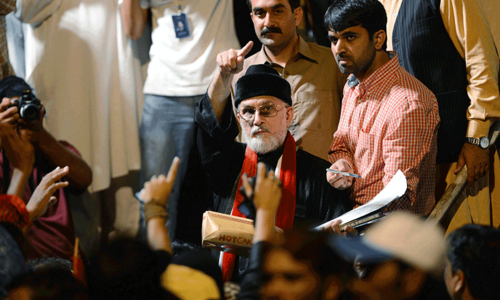 Qadri charged for using loudspeakers