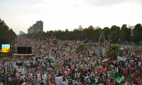 PML-N set to mobilise workers against PTI protest