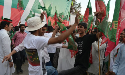 Judicial magistrate grants bail to 35 PTI workers