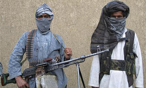 Three militants, policeman die in attack