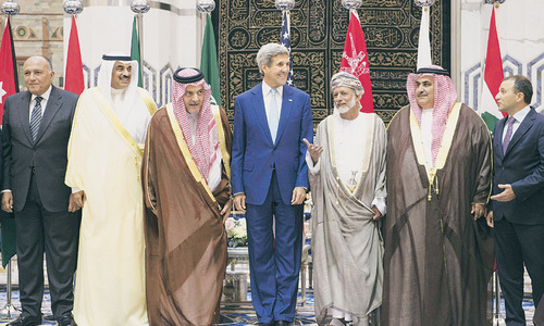 Arab cooperation is symbolic win for US, but uneasy allies face many tests