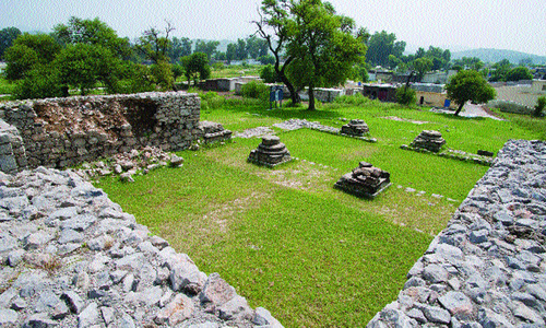 Rains take a toll on ancient sites too