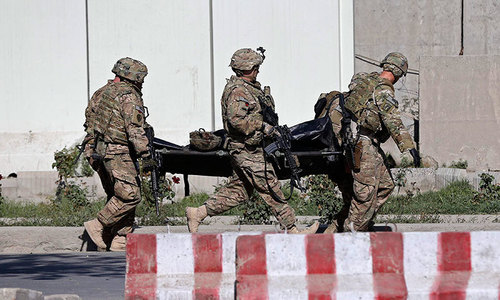 Three Nato soldiers killed in Kabul suicide car bomb
