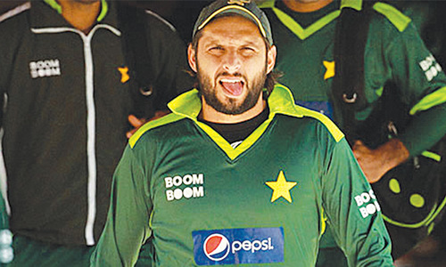 Afridi named captain until 2016 World T20