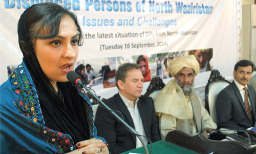 Political crisis overshadows mass displacement issue