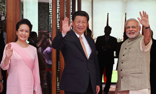 China's Xi makes maiden India visit, seeking to reset ties