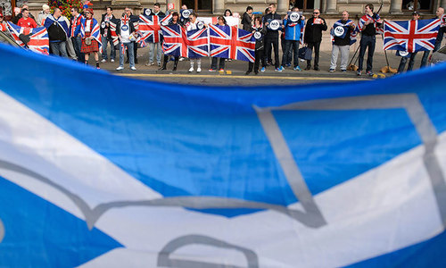Scotland braces for historic independence vote