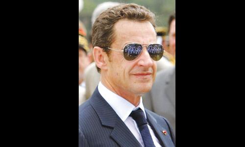 Sarkozy —  bling-bling comeback king