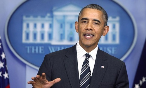 I will not commit US troops to another ground war, says Obama