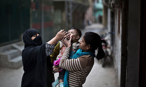 Two new polio cases reported from Karachi