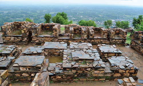 The ruins of Jamal Garhi - A Buddhist monastery