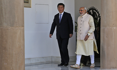 Modi 'expresses concern' to Xi on disputed border issues