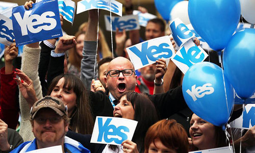#ScotlandDecides: Voting 'yes' out of hatred? Sounds familiar