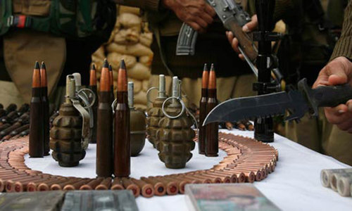 Police, security forces seize 250 kilos of explosives in Quetta