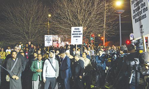 15 detained in anti-terrorists raids in Australia