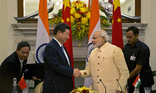 China troops withdraw from India border as Xi visit ends