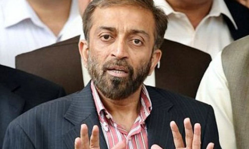 MQM's Farooq Sattar flays PTI over decentralisation debate