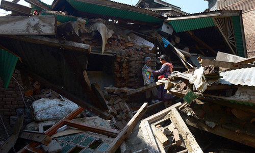 Flood's aftermath in Srinagar: Picking up the pieces