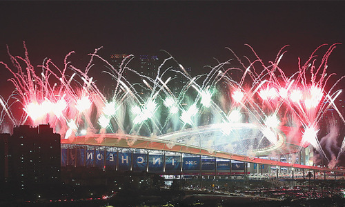 Asian Games open at Incheon amid thrill, colour