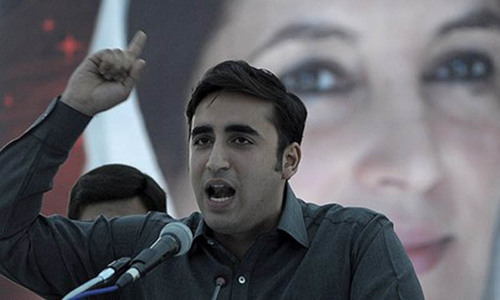 Polls rigged from Karachi to Khyber,  says Bilawal