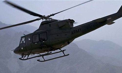 Two pilots injured as military aircraft crashes in Ziarat