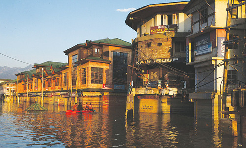 The day Srinagar sank