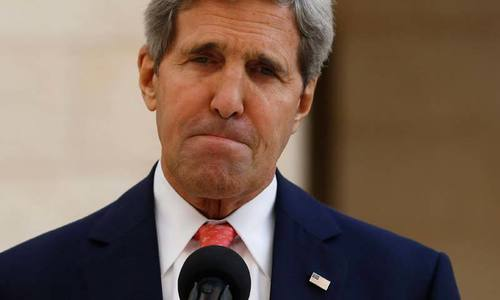 Iran has 'role' in fighting IS militants, Kerry accepts