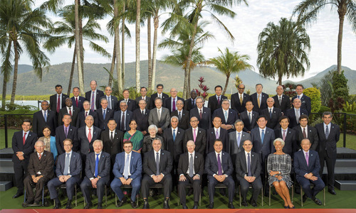 G20 aims to 'change destiny of global economy'