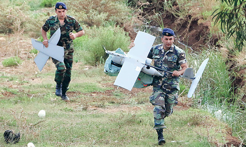 Israeli drone crashes in Lebanon