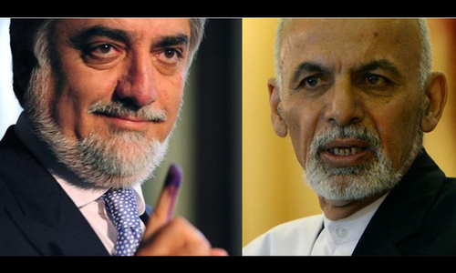 Afghan presidential rivals set to sign unity deal