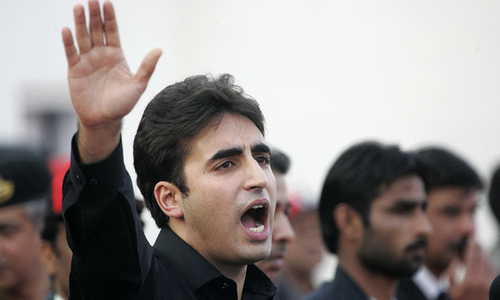 Bilawal, finally