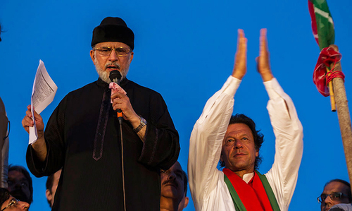 Imran met Qadri in UK, admits Qureshi
