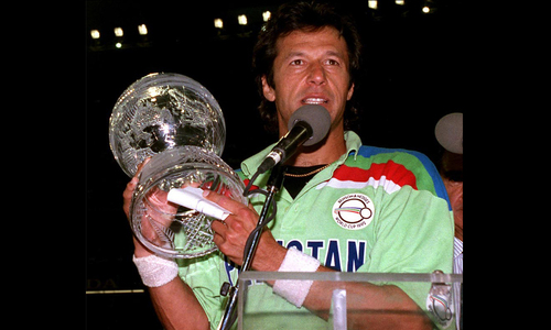 Imran snub from trophy celebrations irks Rashid