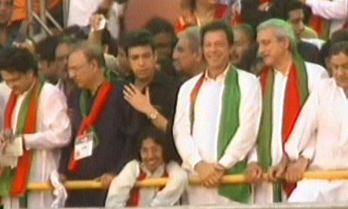 Here to unite communities, Imran Khan tells Karachi gathering