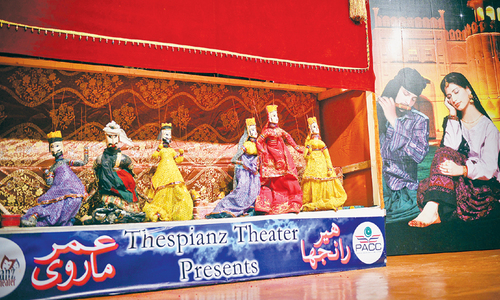 Heer Ranjha, Umar Marvi puppet show hit by mismanagement