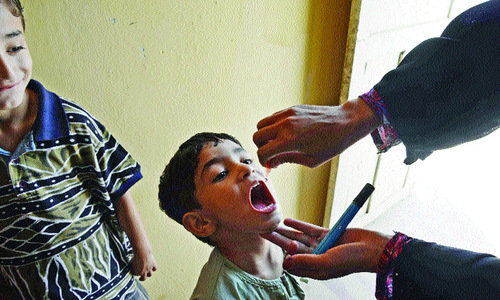 149 polio-affected children in 2014 did not receive OPV