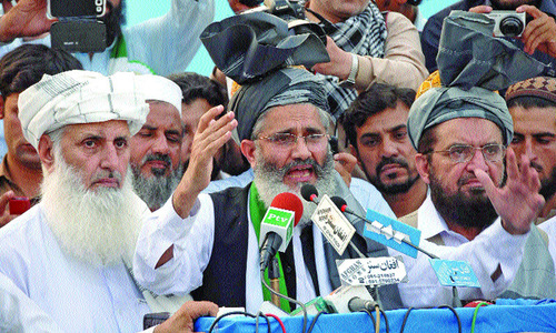 Jirga seeking dignified solution to political crisis: Siraj