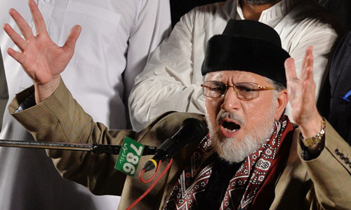 Amid tensions, Qadri beseeches followers to 'stay with him'