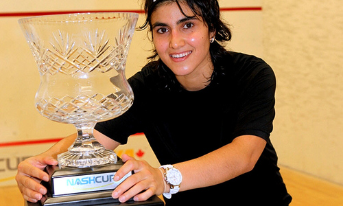 Squash star Maria Toorpakay raises voice for equality