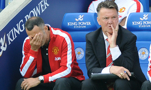 Van Gaal has no defence for shock Leicester loss