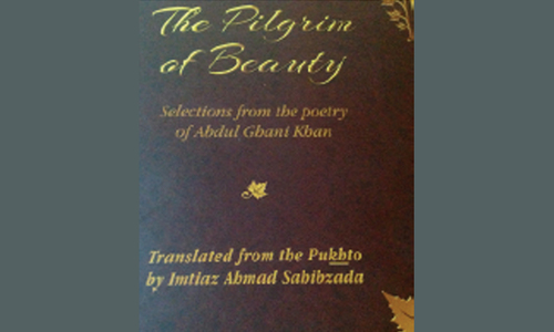 English translation of Ghani Khan's poetry to hit the stands soon