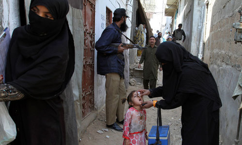 Drive against polio: 12 UCs of central district high-risk areas