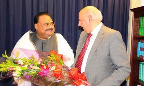 Technocrats should govern country for two years: Altaf Hussain