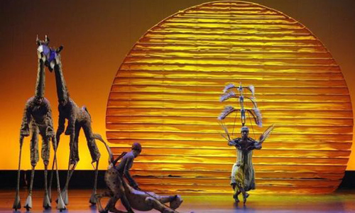 The Lion King musical named top-grossing production of all time