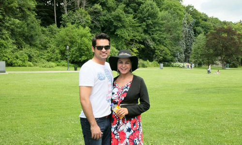 Veena Malik gives birth to baby boy Abram