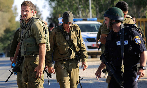 Israel troops kill 2 Palestinian suspects in teens murder: army