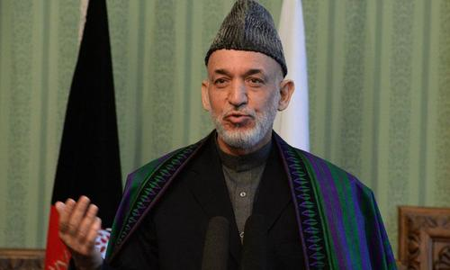 Karzai slams US, Pakistan in farewell speech