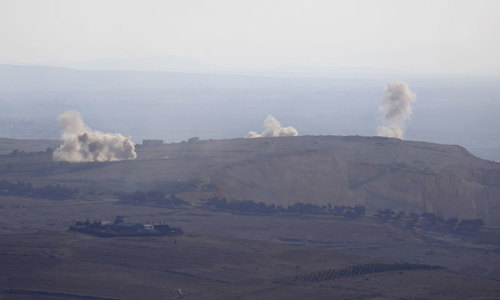 Israel military shoots down Syrian aircraft