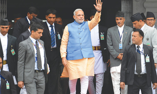 India's PM ups fashion ante for maiden US visit